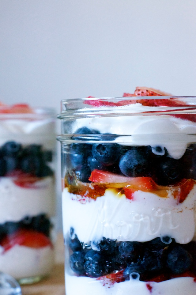 Double Berry Parfaits